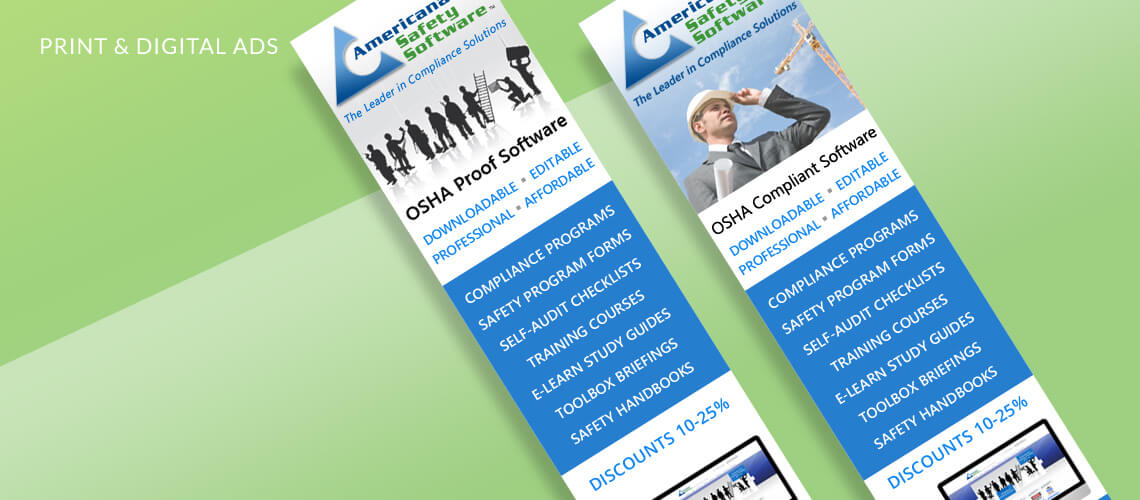Americana Safety Software - Marketing Design, Ad Design