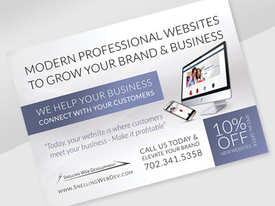 Snelling Web Development - Responsive Business Website, Logo Design, Print & Digital Ad Marketing Design